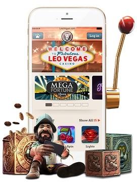 LeoVegas : tipos de juegos