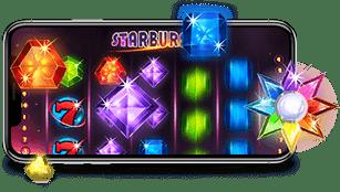 Starburst tragaperras en tu movil