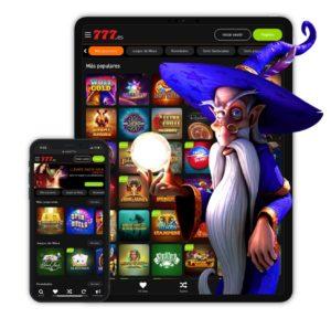 Casino777 disponible en mòvil para jugadores españoles
