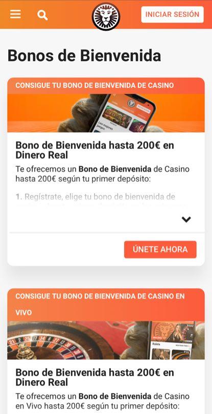 LeoVegas Casino en línea promociones