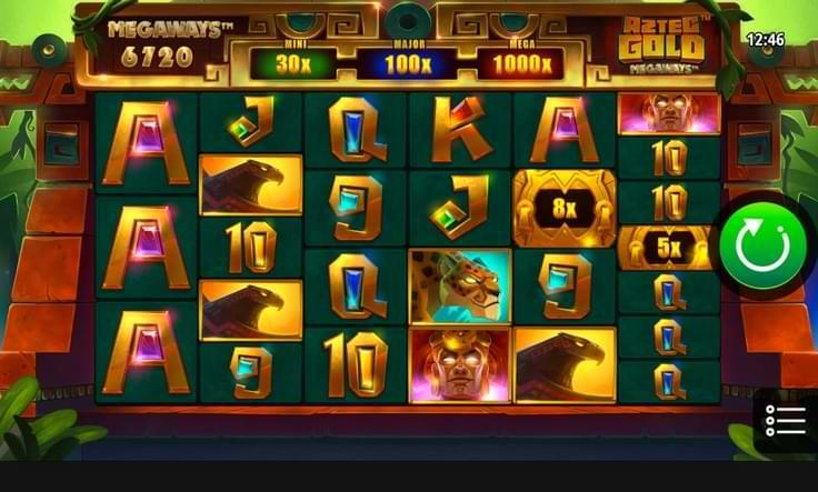 Aztec Gold Megaways Screenshot