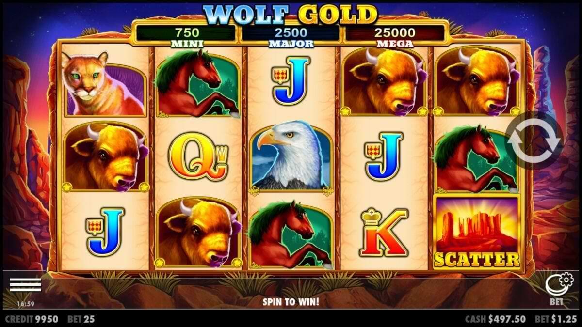 Wolf Gold Screebshot