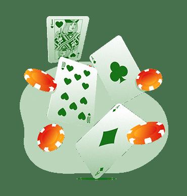 Blackjack : reparto de cartas