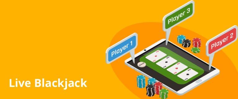 Siente la adrenalina con el live blackjack