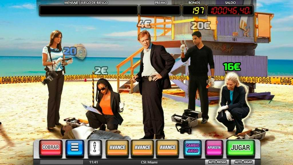 CSI Miami Bono
