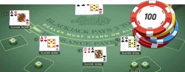 Atlantic City Blackjack - Juego de mesa