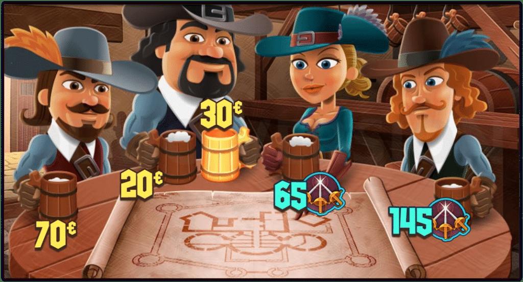 Un ejemplo de un mini juego