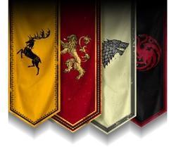 GameofThrones casa banderas