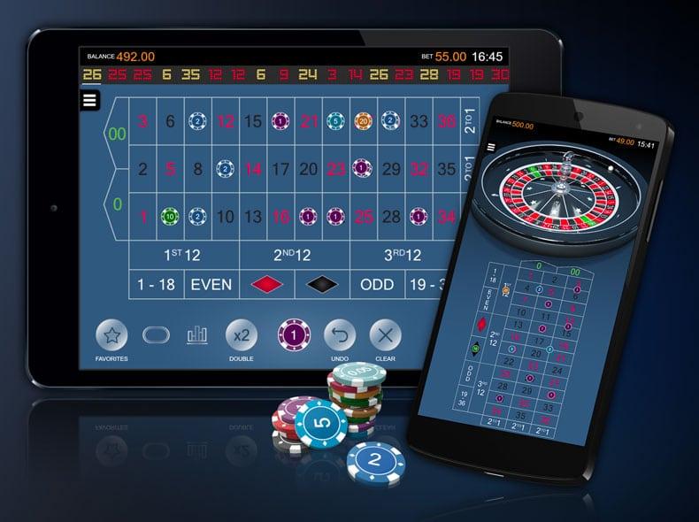 Apuestas y pagos en American Roulette de Microgaming