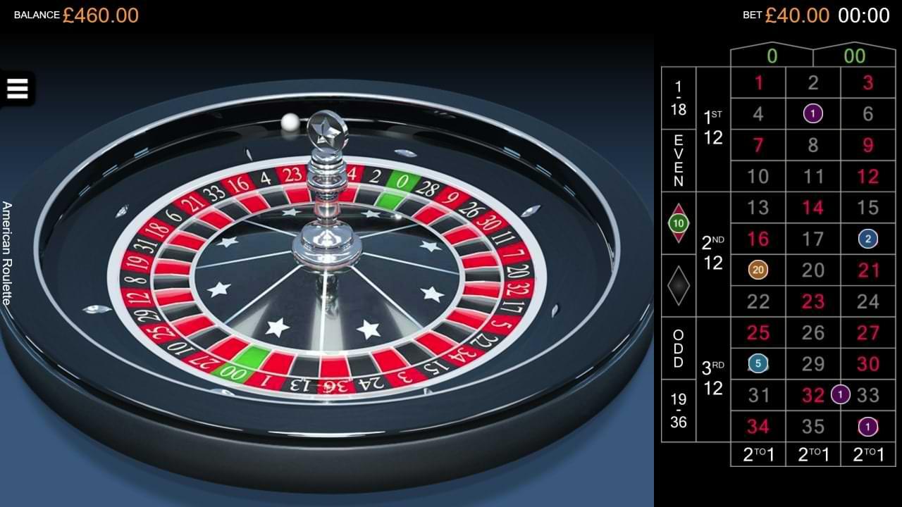 Captura de pantalla de American Roulette