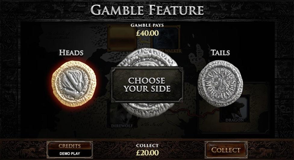 función gamble en Game Of Thrones