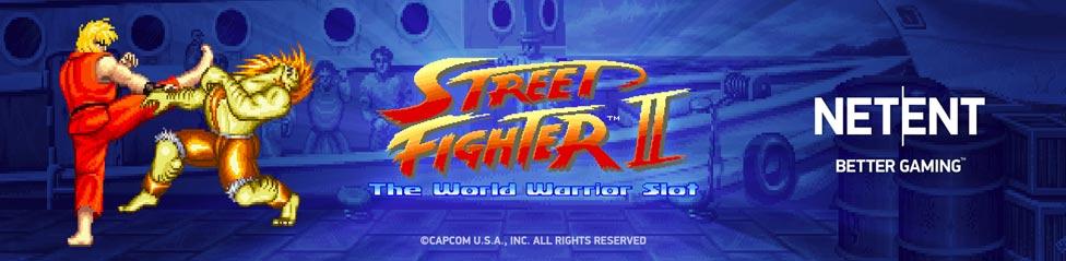 Street fighter II slot tragaperras