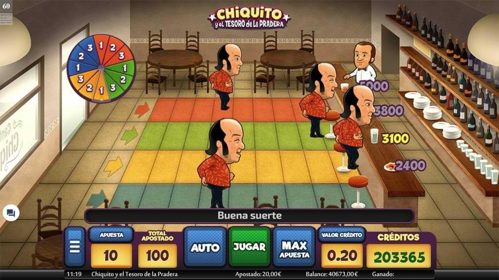 Chiquito y el Tesoro de la Pradera : bonus