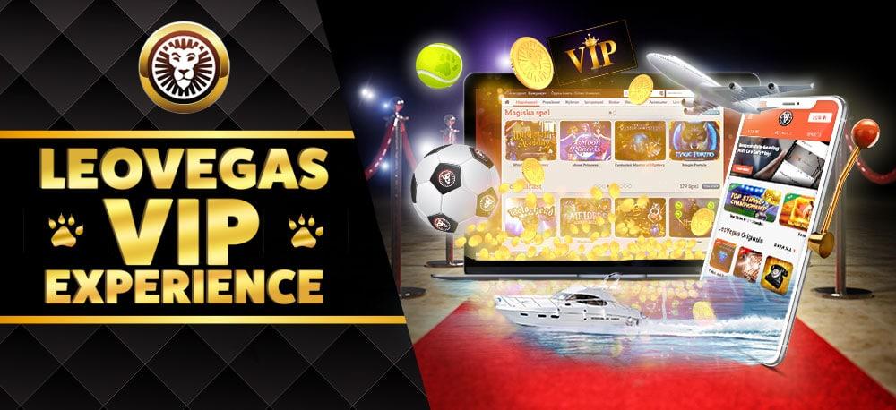 Programa de fidelidad VIP en LeoVegas