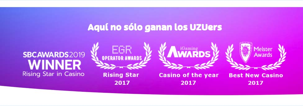 awards del casino playUZU