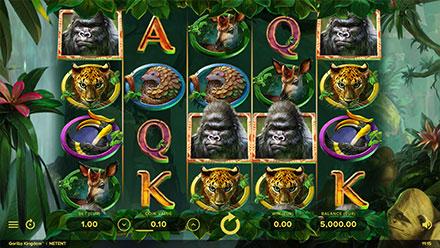 Captura de pentalla de Gorilla Kingdom