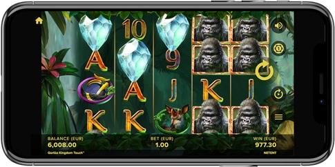 Gorilla Kingdom en el iPhone