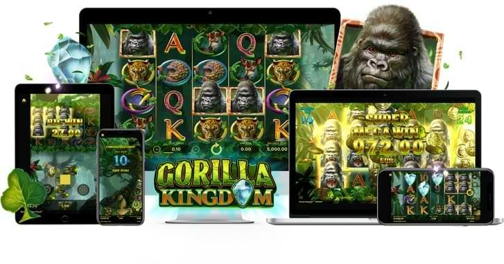 Gorilla kingdom Tragaperras compatible en tu movìl