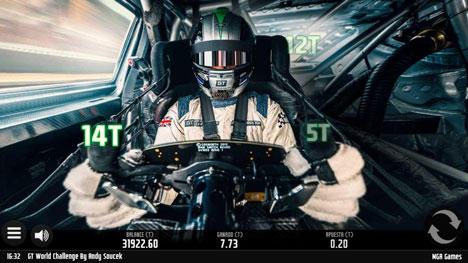 Pilot GT World Challenge de MGA