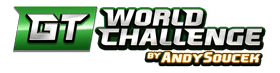 logo juego GT World Challenge by Andy Soucek de MGA