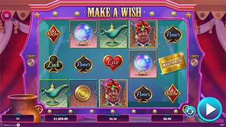 captura de pentalla del juego Make a wish