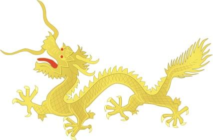 bandera antiguo imperio chino