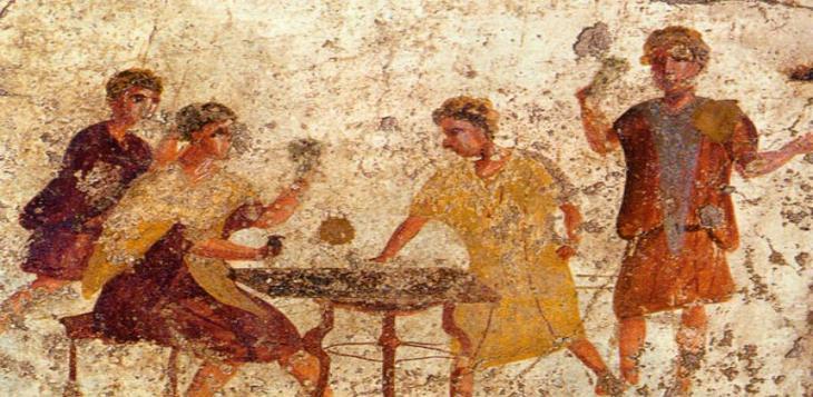 Los juegos y apuestas en la antigua Roma