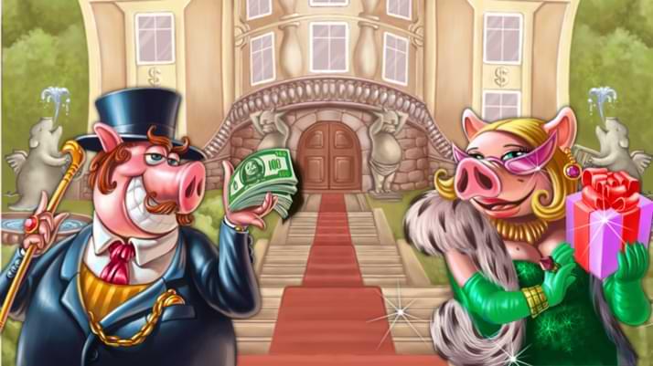 Piggy Riches la Tragaperras de Netent