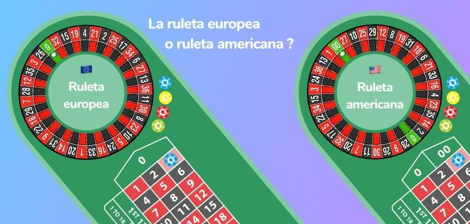 Ruleta europea o ruleta americana ?