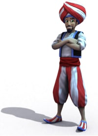 Personaje de Arabian Bingo Online