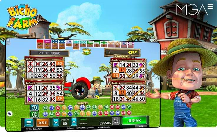 Bicho Farm Bingo Online por MGA