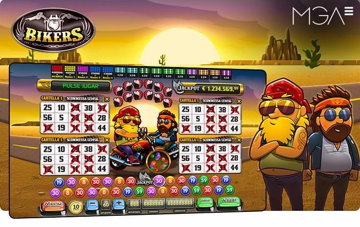 Bickers Bingo Online por MGA