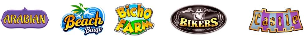 Logo de los juegos de bingo mostrados en esta página