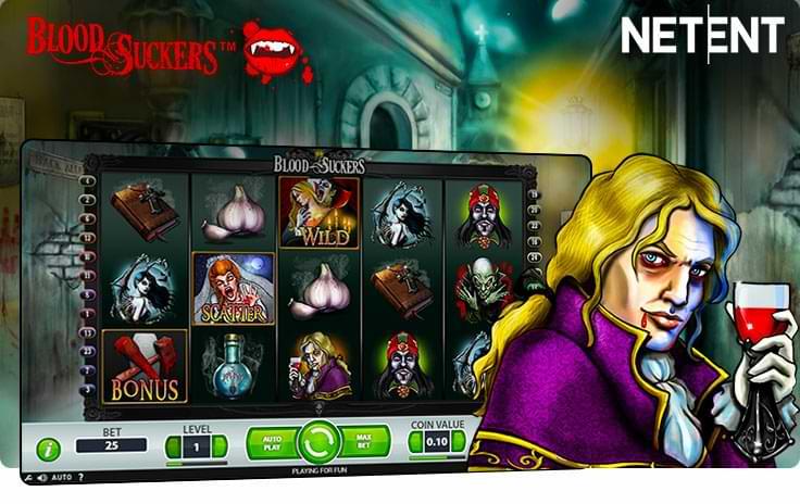 Blood Suckers Halloween Slot