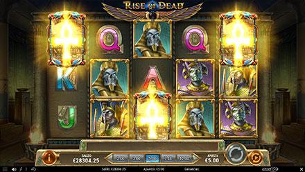 Captura de pentalla de Rise of Dead