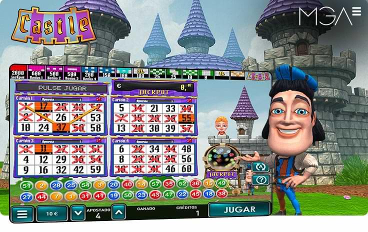 Castle Bingo Online por MGA