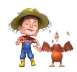 Personaje de Bitcho Farm Bingo Online