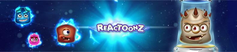 reactoonz banner