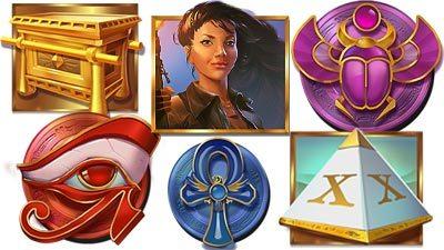 Les símbolos de Ark of Mystery Tragaperras