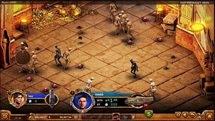 Captura de pentalla Max Quest Wrath of Ra