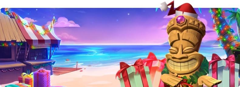 Aloha Christmas tragaperras de Navidad