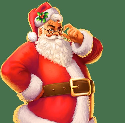 Personaje de la tragaperras Secrets of Christmas