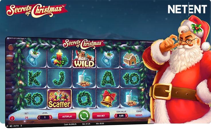 tragaperras de Navidad - Secrets of Christmas