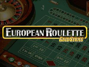 European Roulette Gold Series por Microgaming