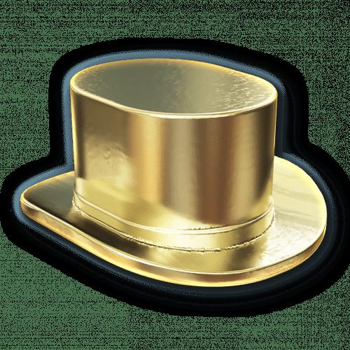 Ficha del sombrero del Monopoly