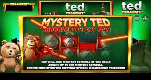 El bono misteriosa de Ted Megaways