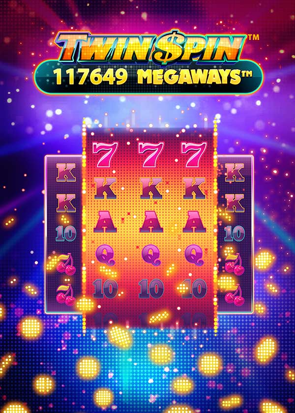 Twin Spin Megaways Slot de Netent